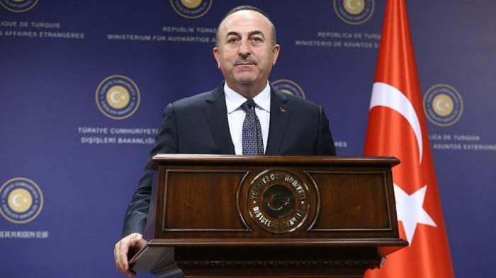 Çavuşoğlu stul qalmaqalına münasibət bildirdi