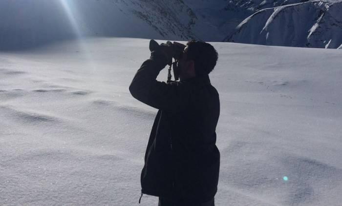 Alpinistlərin axtarışından yeni görüntülər - FOTOLAR+VİDEO