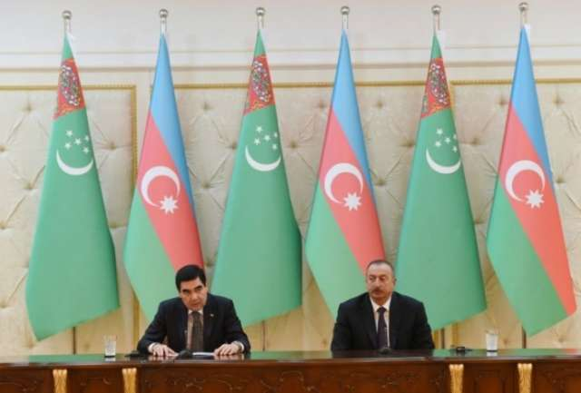 'Turkmenistan and Azerbaijan in favor of transforming Caspian Sea into source of stability'