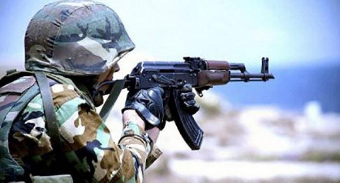 Verteidigungsministerium meldet Waffenstillstandsverletzung an der Front