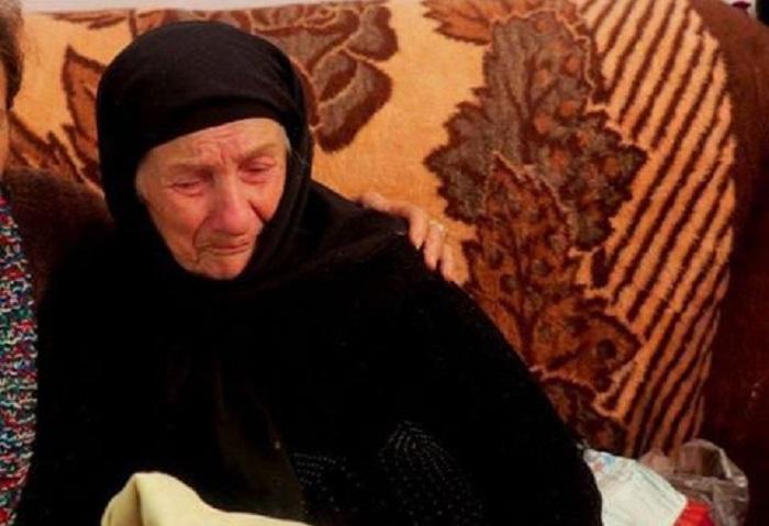 Kadırov Goranboyda tapılan qadına ev hədiyyə edib - VİDEO