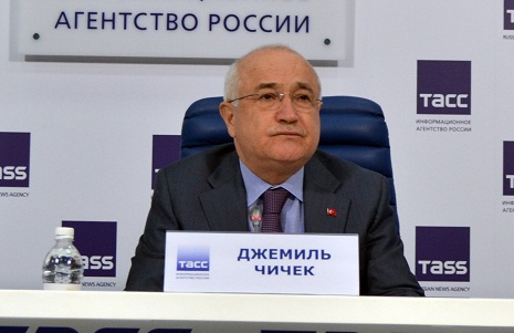 "Cemil Cicek: Armenia cannot deceive world by promoting the events of 1915 as ""Armenian genocide"""