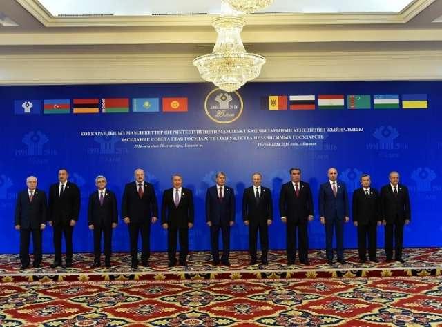 Tajikistan takes over CIS presidency