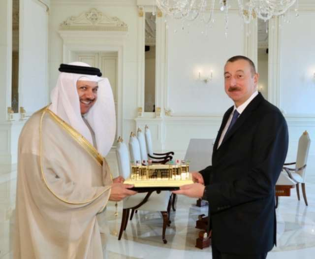 Ilham Aliyev receives delegation of Cooperation Council for Arab States of Gulf