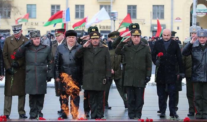 Zakir Həsənov Belarusda təltif edildi -