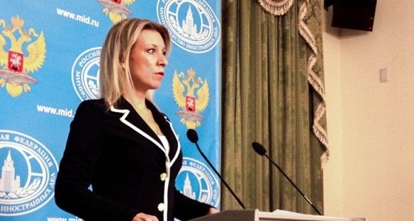 Zakharova commente les rapports que la Russie a pris l`initiative dans la question du Karabakh