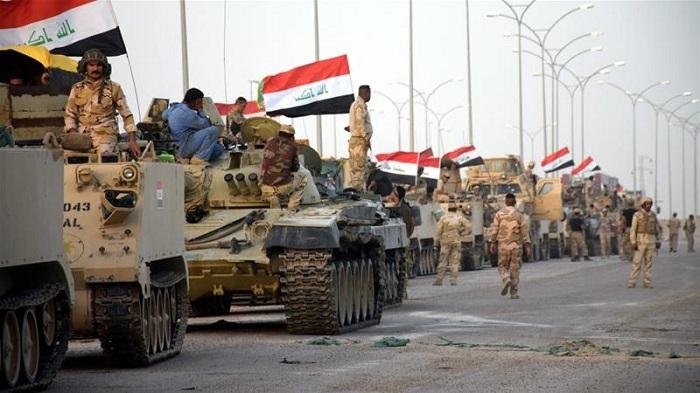 İraq ordusu daha bir şəhəri kürdlərdən geri aldı - ( VİDEO)