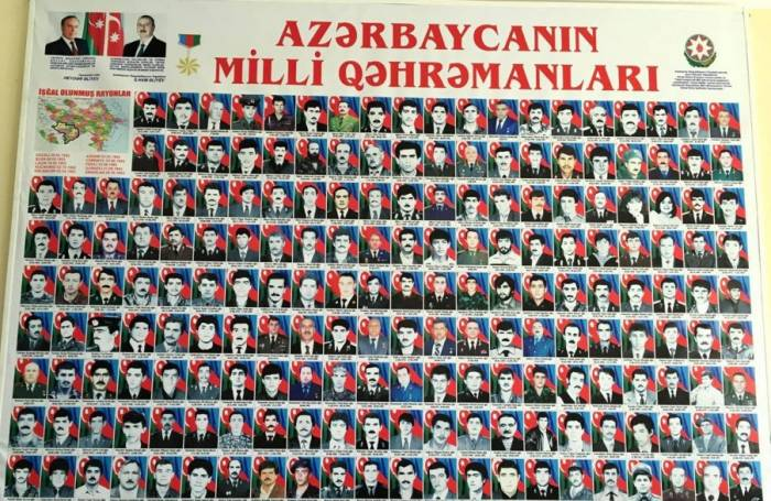 Azərbaycanın neçə Milli Qəhrəmanı sağdır?