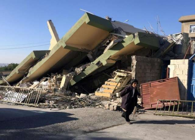 Iran's quake death toll rises to 530, more than 8,000 injured: IRNA