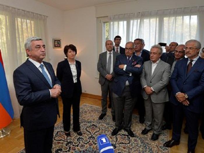 """""""Cəbhədə gərginliyin azaldılması ilə bağlı razılığa gəldik"""" - Sarkisyan"""