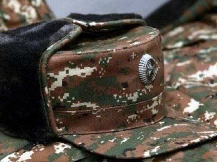 Ermənistanın daha bir hərbçisi öldü