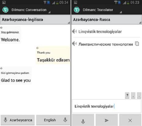 Yenilik: `Dilmanc Translator` artıq smartfonlarda