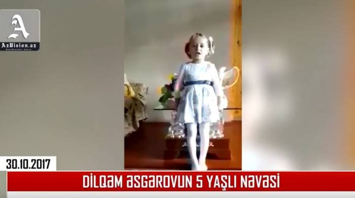 """""""Xahiş edirəm, babamı xilas edin"""" - Dilqəmin 5 yaşlı nəvəsi (VİDEO)"""