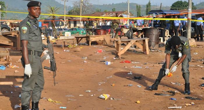 Aumenta a 56 el número de muertos por el doble ataque en Nigeria