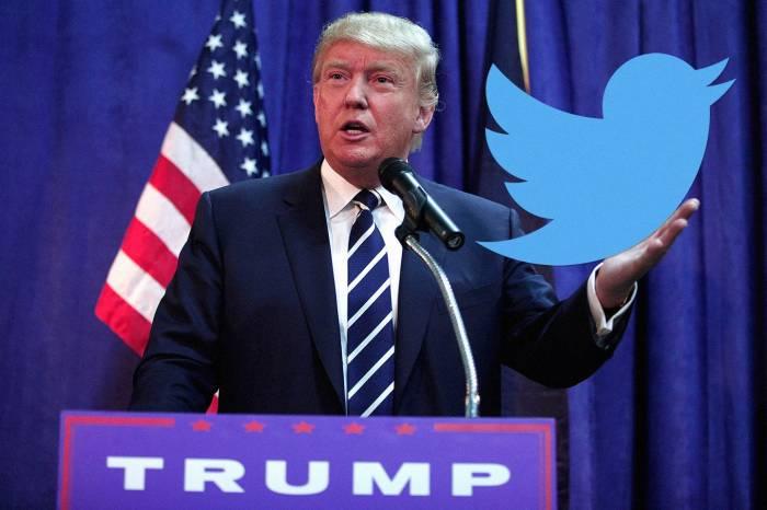 """Trampın """"Twitter"""" hesabının qiyməti - 2 milyard dollar - (VİDEO)"""