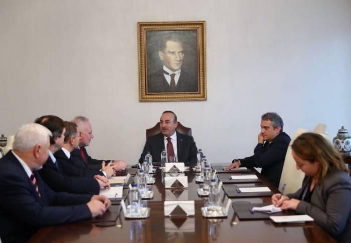 Çavuşoğlu Minsk qrupunun həmsədrləri ilə görüşüb - FOTO