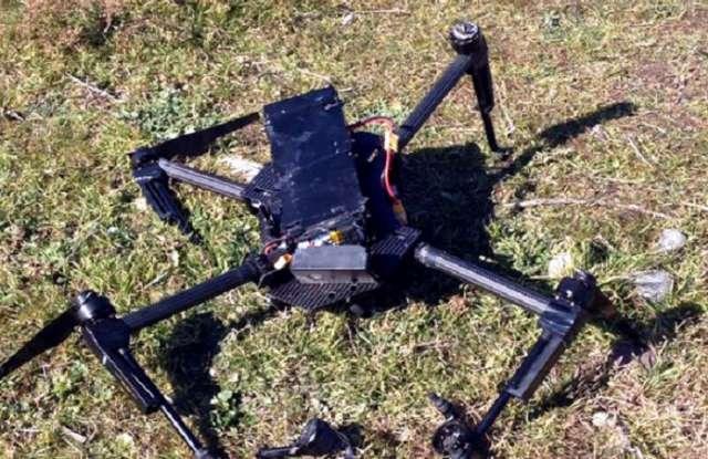 Militares israelíes derriban un dron en la frontera con Siria