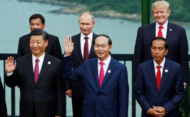 Trump, Duterte meet for first time at APEC summit