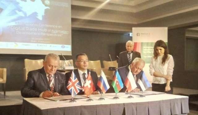Azerbaijan inks deals for e-commerce development