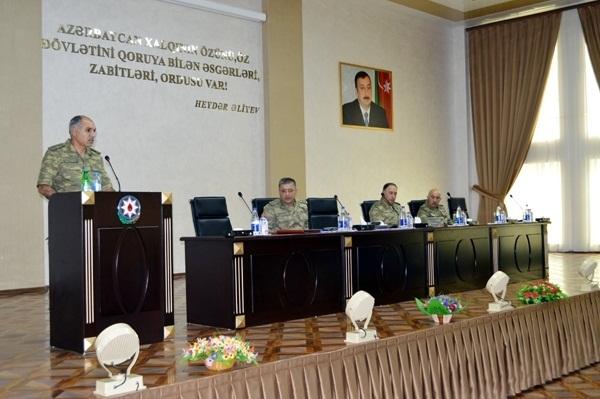 Deputy defense minister, republic military prosecutor visit frontline - PHOTOS