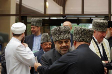 Şeyx prezidenti Bakıya dəvət etdi - FOTOLAR