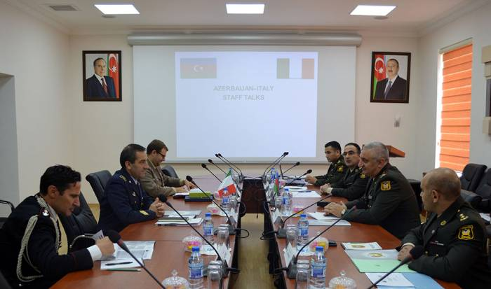 Azərbaycanla İtaliya arasında hərbi əməkdaşlıq genişləndirilir