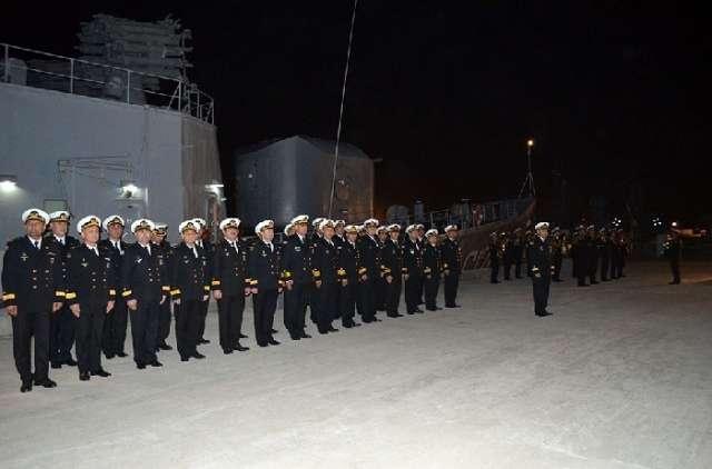 Azerbaijani Military Navy returns from Iran - VIDEO, PHOTOS