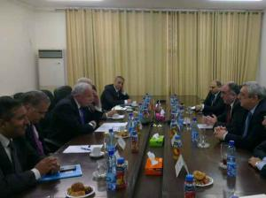Foreign ministers of Azerbaijan and Palestine meet