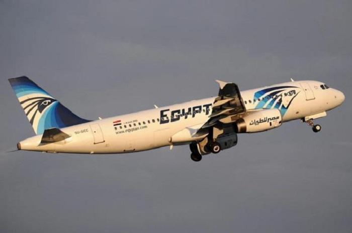 Alerta de humo y fuego en el avión de EgyptAir antes de estrellarse