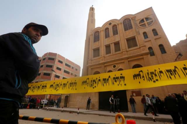 Gunman kills 11 in attacks on Coptic church, Christian-owned shop in Egypt