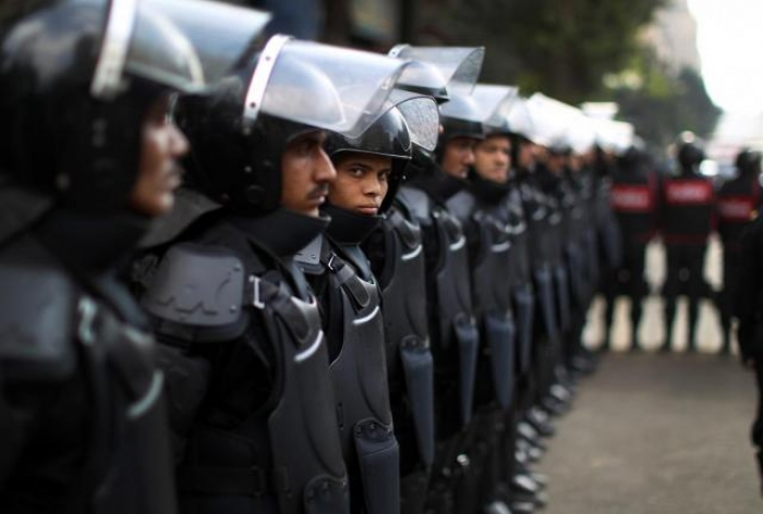 Egyptian police suffer casualties in ambush