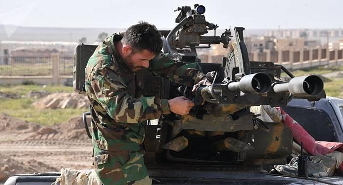 El Ejército sirio presiona a los terroristas en Deir Ezzor (vídeo)