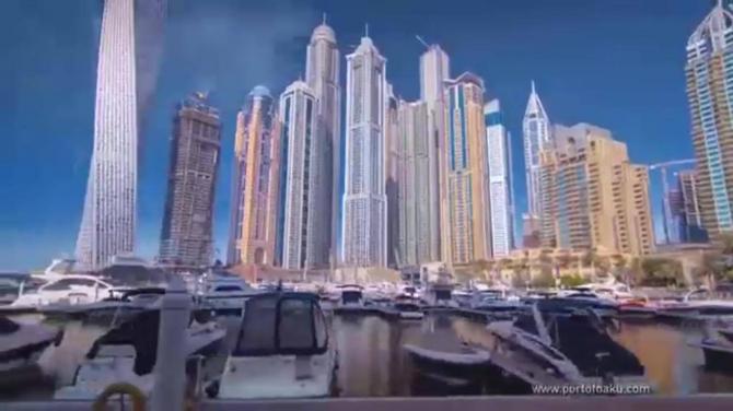 Ələt Dubaya çevirəcək - `Port of Baku` layihəsinin promo çarxı (VİDEO)
