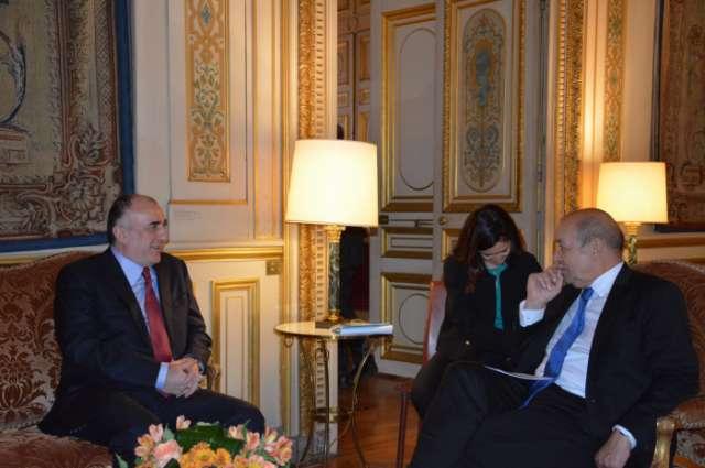 Azerbaijan, France discuss Nagorno-Karabakh conflict