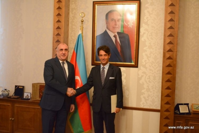 Mammadyarov receives newly appointed Italian ambassador