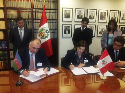 Azerbaijan, Peru sign visa regime facilitation agreement