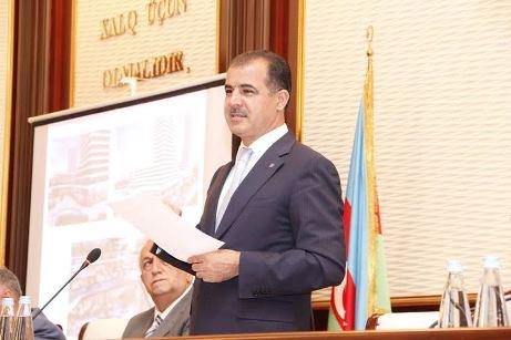 Elmar Vəliyev hesabat verdi