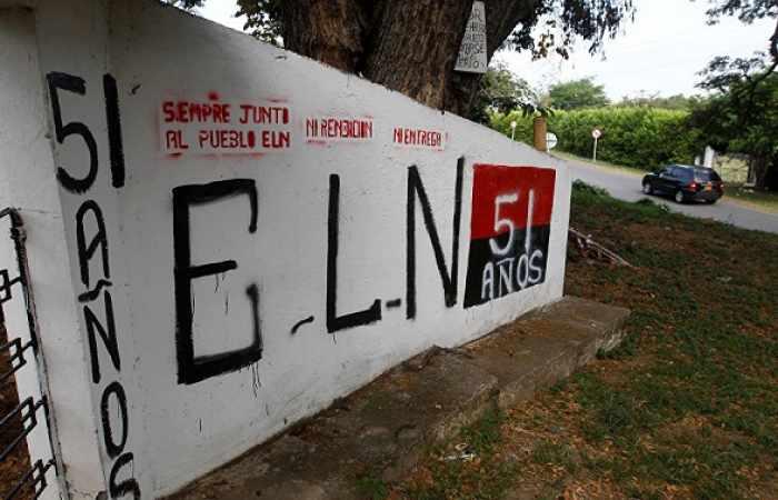 Guerrilla del ELN exigen al gobierno de Colombia reanudar los diálogos de paz