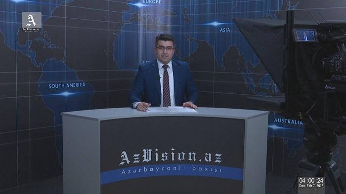 AzVision.az Alman dilində xəbər proqramlarına başladı – VİDEO