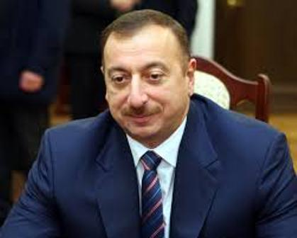 İlham Əliyev Saakaşvili ilə görüşdü