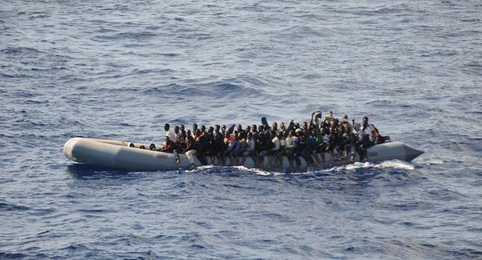 Malta rescata a más de 200 migrantes que viajaban en dos botes hinchables por el Mediterráneo