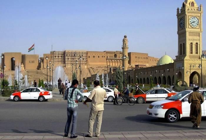 İranın Ərbildəki baş konsulluğuna hücum edilib