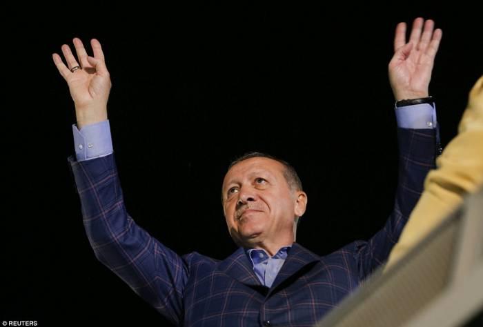 Erdogan se alegra de la victoria del deportista azerbaiyano-VIDEO