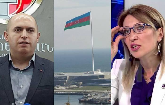 Erməni deputatlar Bakıya gəlib