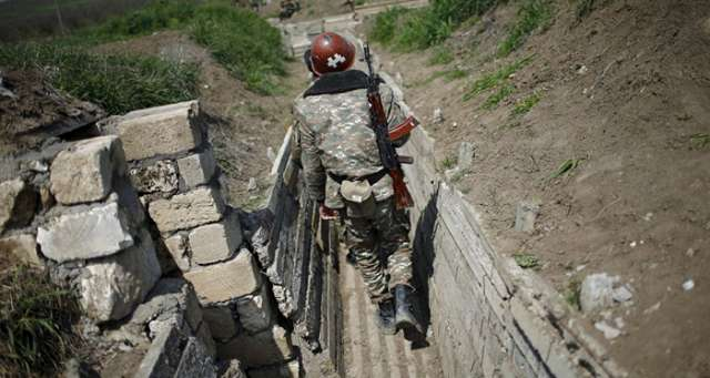 Armenian soldier killed in retaliation fire by Azerbaijani army