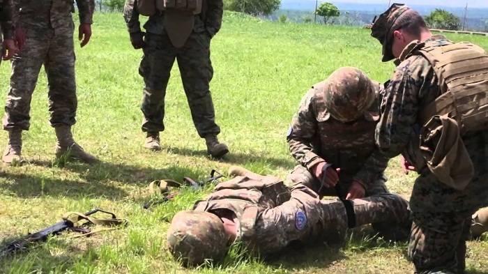 Erməni ordusunda yaralıların sayı gizlədilir - Fotofakt
