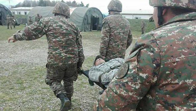 Bıçaqlanan polkovnik Ermənistan ordusunda xidmət edirmiş