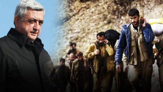 PKK terrorçuları Afrindən Ermənistana qaçır