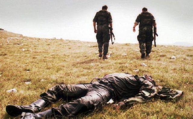 Cəbhədə 143 erməni öldürülüb