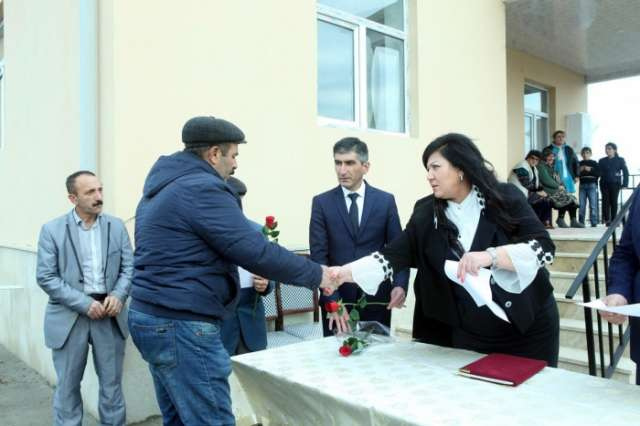 Disabled Karabakh veterans and martyrs' families provided with new flats
